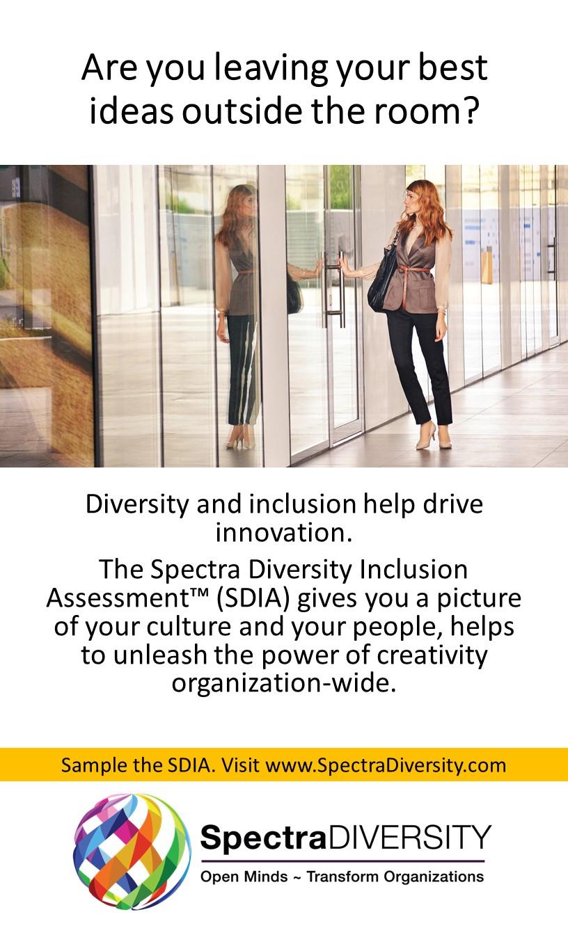 SDIA: Measuring Diversity & Inclusion @ Organizations